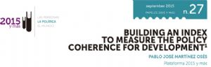Building an Index to Measure the Policy Coherence for Development