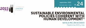 Sustainable Environmental Policies Coherent with Human Development